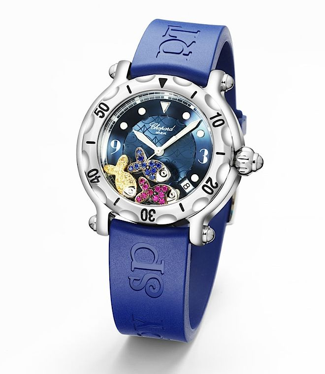 Zegarek Chopard Happy Beach. 20 lat zegarków Chopard Happy Sport