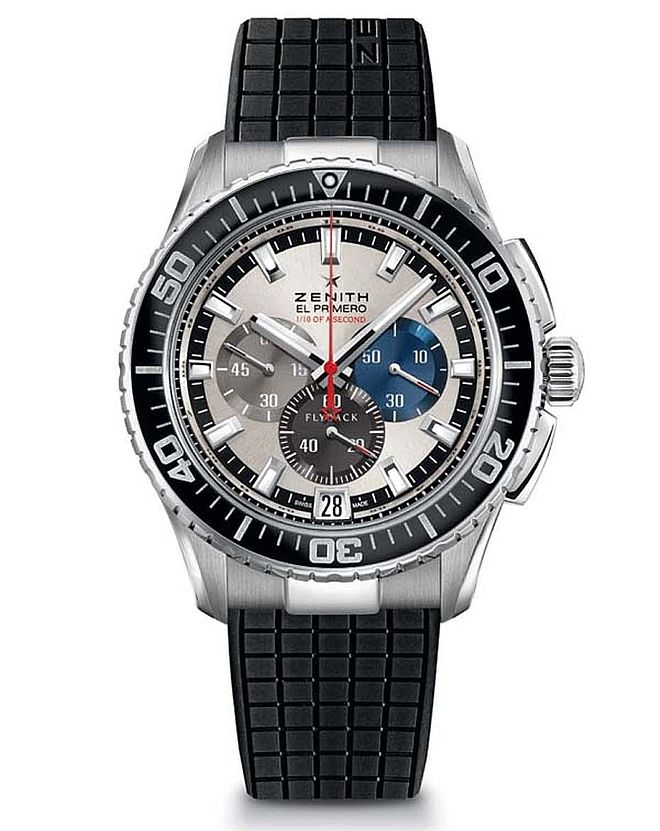 Sports Watch Prize: Zenith, El Primero Stratos Flyback Stricking 10th