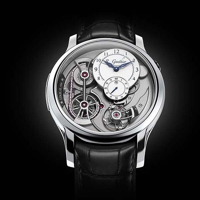 Men's Complications Watch Prize: Romain Gauthier, Logical One