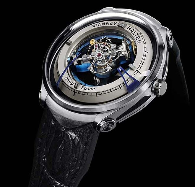 Innovation Prize: Vianney Halter, Deep Space Tourbillon