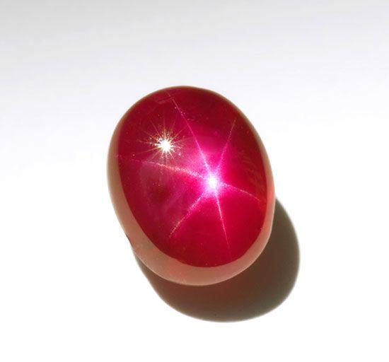 rubin gwiaździsty
