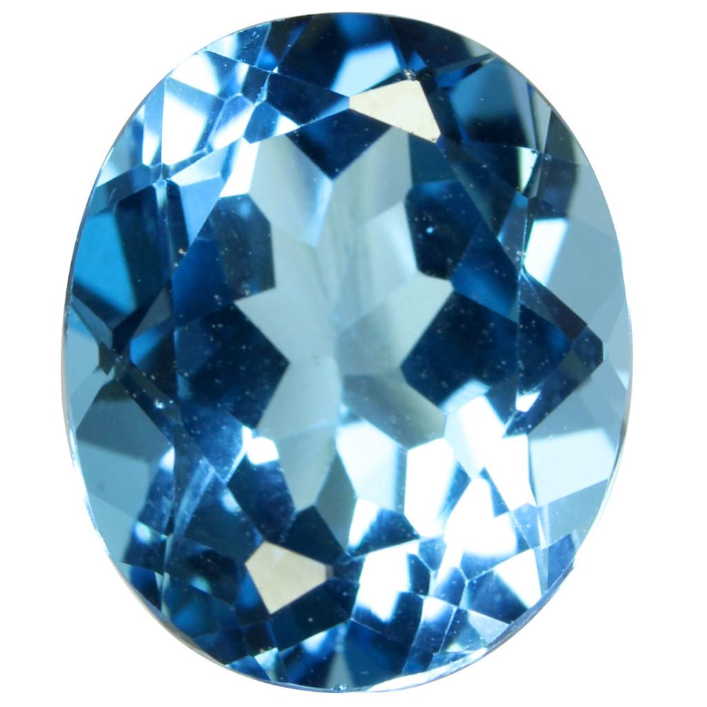 Niebieski topaz, bardzo popularny iceniony wjubilerstwie