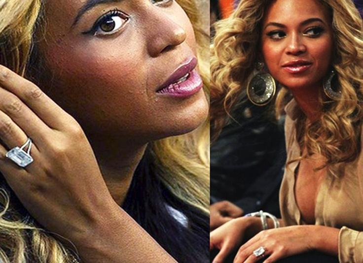Beyonce-Emerald-Ring