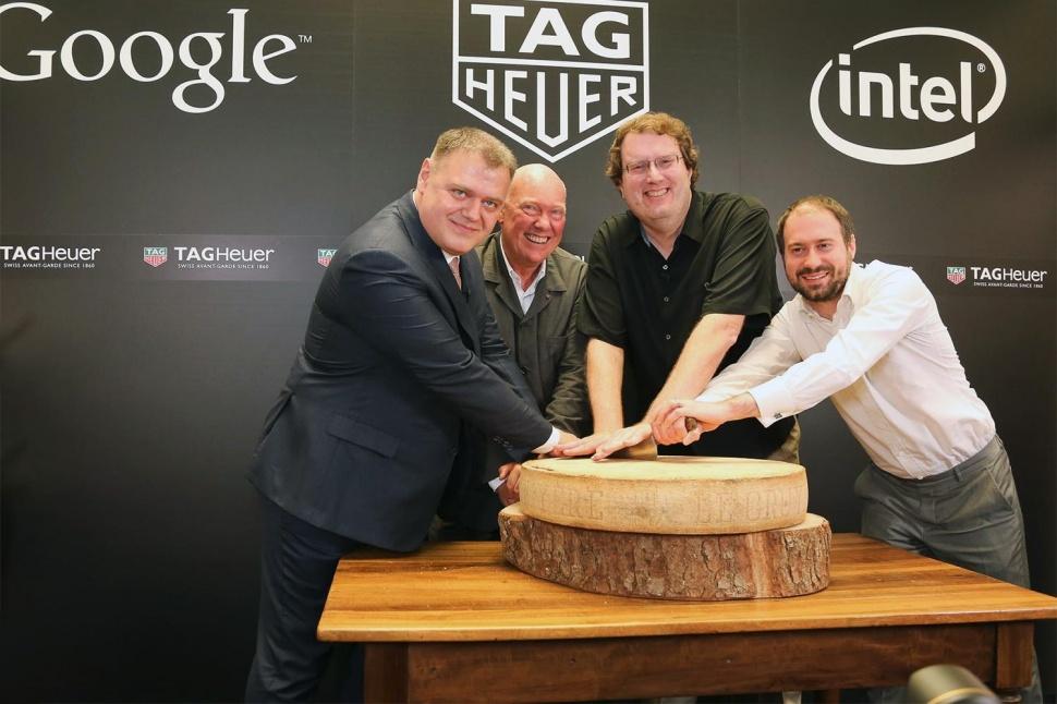 Tag Heuer, Intel iGoogle