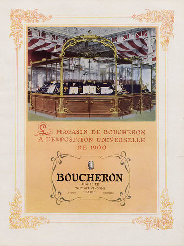 13 Ekspozycja Boucheron naExposition Universelle, 1900r. - plakat