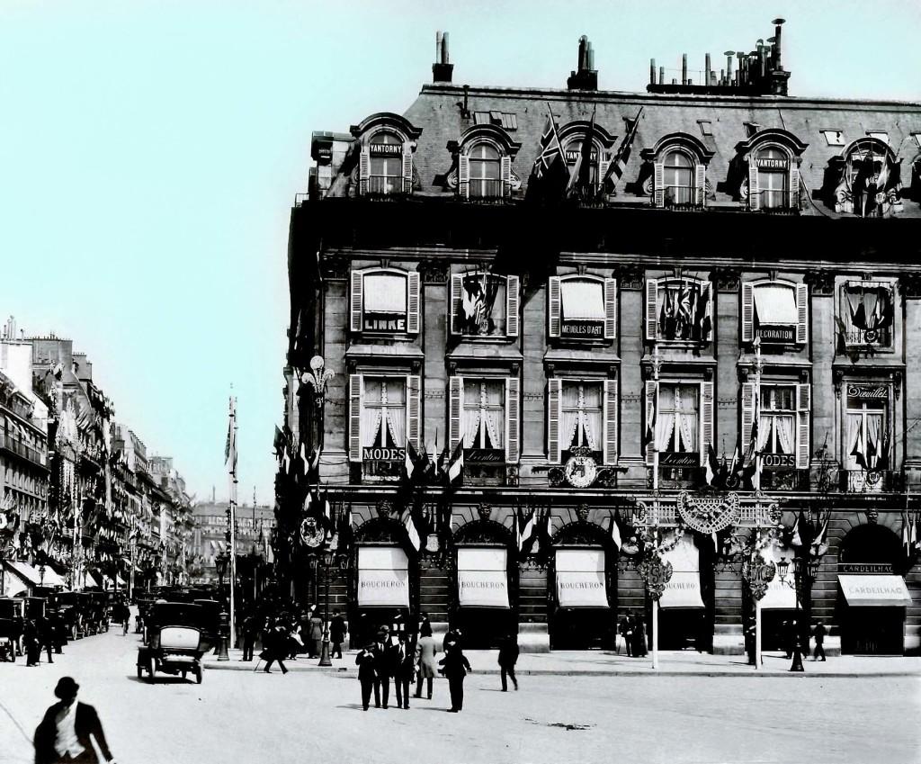 3 Pierwszy butik naplacu Vendôme