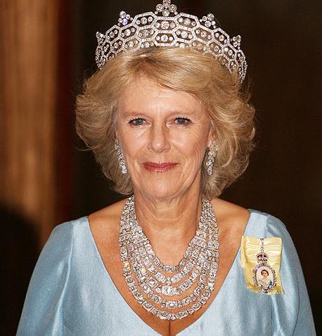 5 Diadem wykonany dla Lady Greville. Nazdjęciu księżna Kornwalii, Camilla