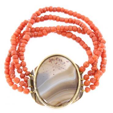 6425_1120-Bransoleta-z-koralem-czerwonym-i-agatem_a7d0cfb38f97c79ca440f9223fe114e7_auctionPageMedium