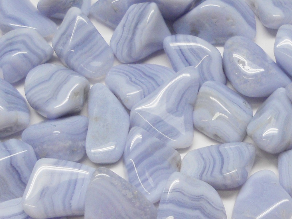 Blue Lace Agate Tumbled (2)
