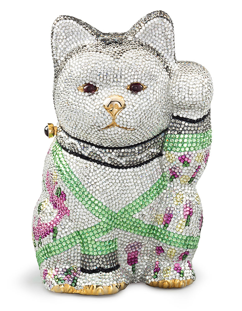 Judith-Leiber-Waving-Cat-Evening-Bag