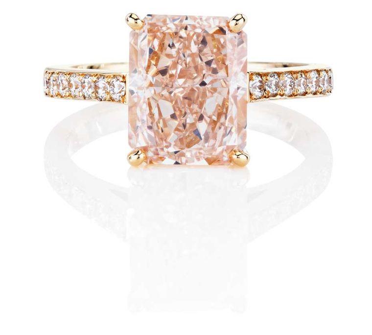 Pierścionek zaręczynowy De Beers zkolekcji 1888 Master Diamonds and Creative Solitaires
