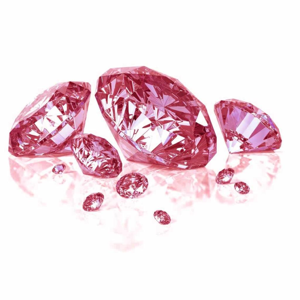 różowe diamenty zArgyle
