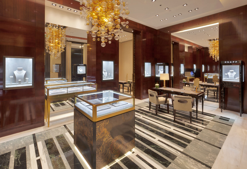 Graff diamonds China store
