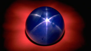 The 330-carat Star of Asia, which is from Burma, is said to have belonged to India's Maharajah of Jodhpur. The gem is now in the collection of the Smithsonian National Museum of Natural History.