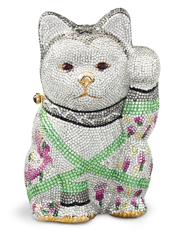 Judith-Leiber-Waving-Cat-Evening-Bag